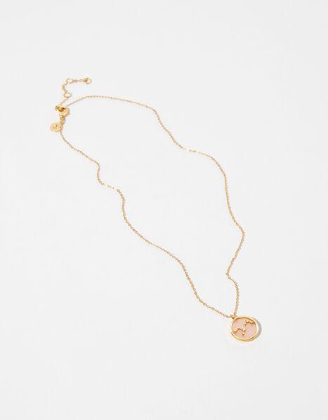 Rose Quartz Constellation Necklace - Virgo, , large