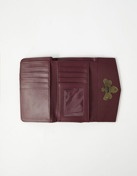 Britney Bee Wallet Red, Red (BURGUNDY), large