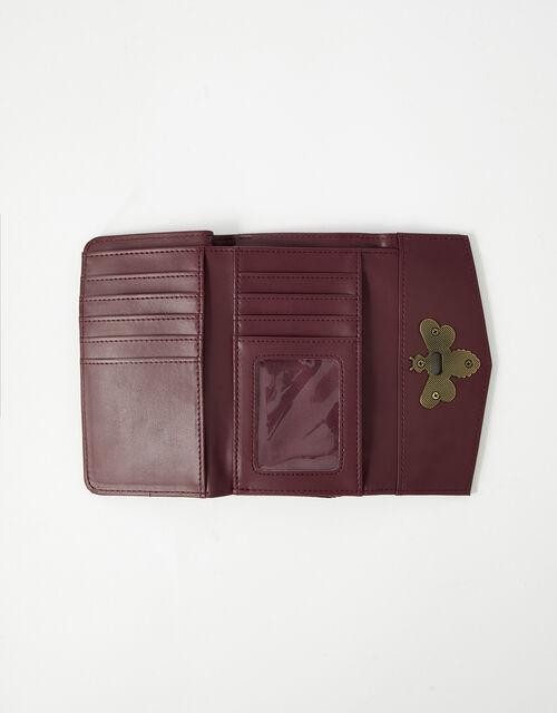Britney Bee Wallet, Red (BURGUNDY), large