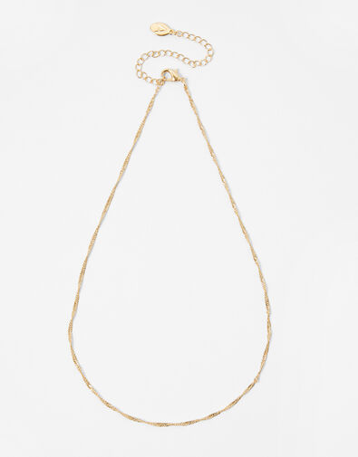 Twist Chain Necklace Gold, Gold (GOLD), large
