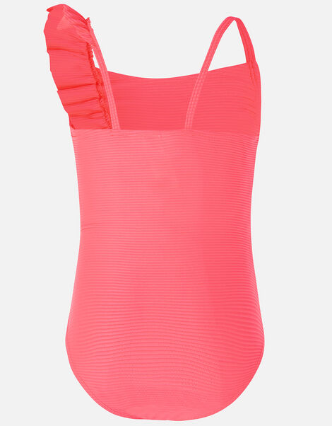 Neon Frill Swimsuit Pink, Pink (PINK), large