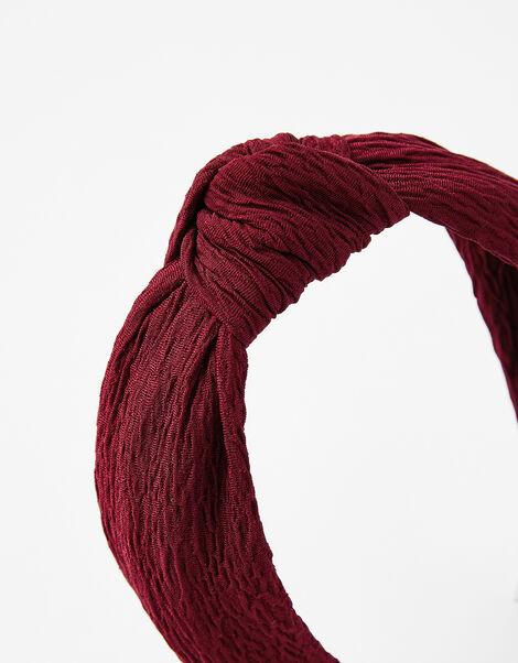 Crinkle Knot Headband, , large