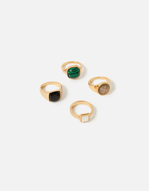 Reconnected Chunky Ring Multipack, Multi (DARKS-MULTI), large