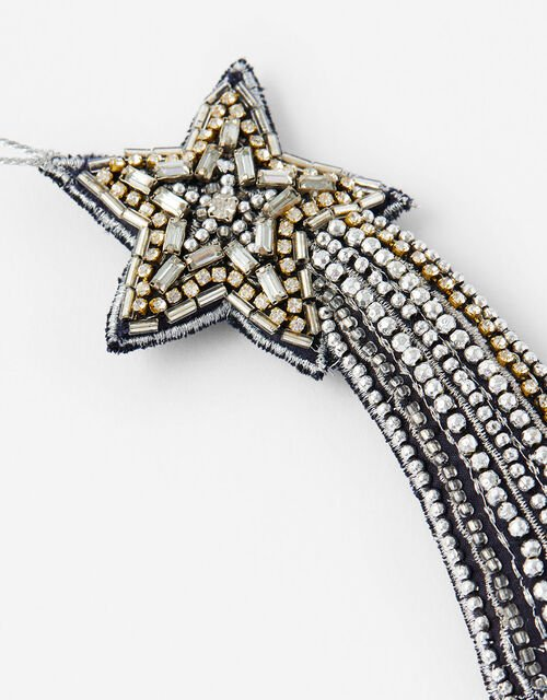Embellished Shooting Star Decoration, , large