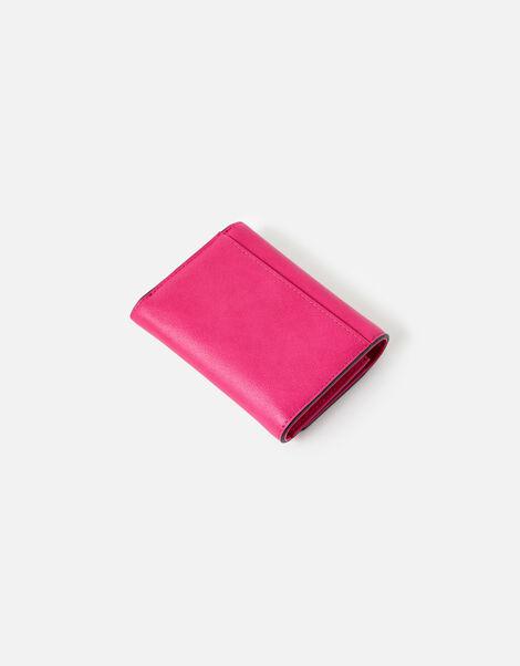 Stella Croc Purse  Pink, Pink (FUCHSIA), large