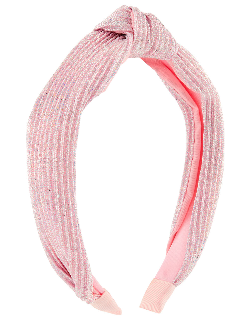 Sparkly Knotted Headband, , large