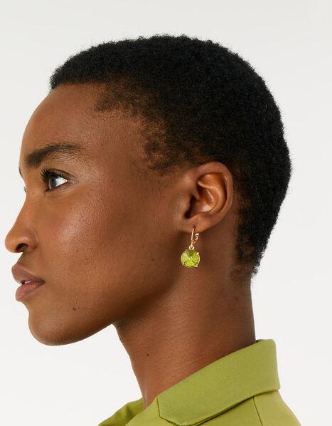 Country Retreat Gem Earrings Green, Green (GREEN), large