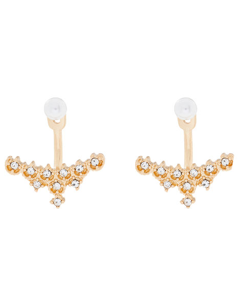 Pearl and Crystal Ear Jackets, , large
