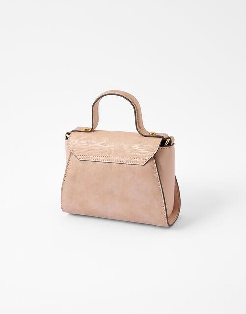 Ellie Top Handle Bag, Pink (PINK), large