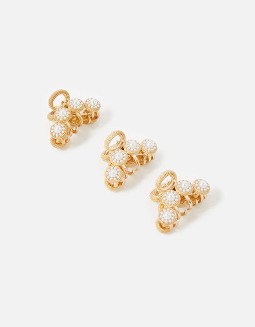 Pearl Mini Claw Clips , , large