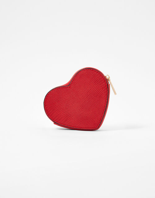 Valentine's Heart Purse, Red (RED), large