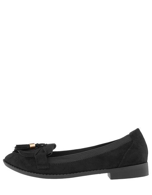 Latimer Elasticated Loafers, Black (BLACK), large