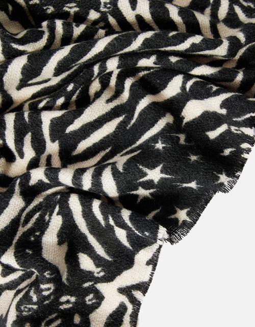 Zebra Supersoft Blanket Scarf, , large