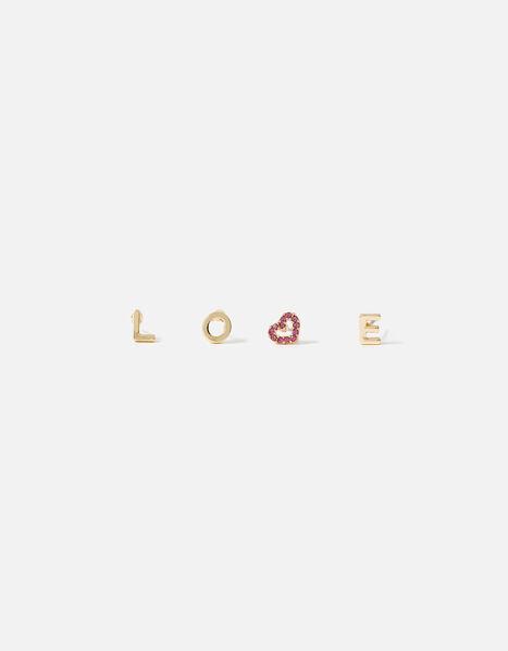 Feel Good Love Script Studs, , large
