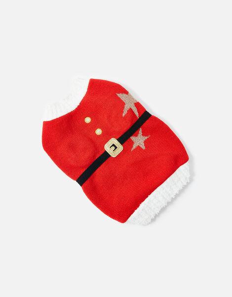 Santa Dog Jumper Red, Red (RED), large