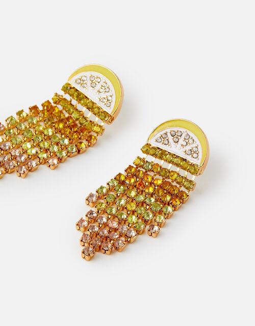 Island Vibes Lexie Lemon Earrings, , large