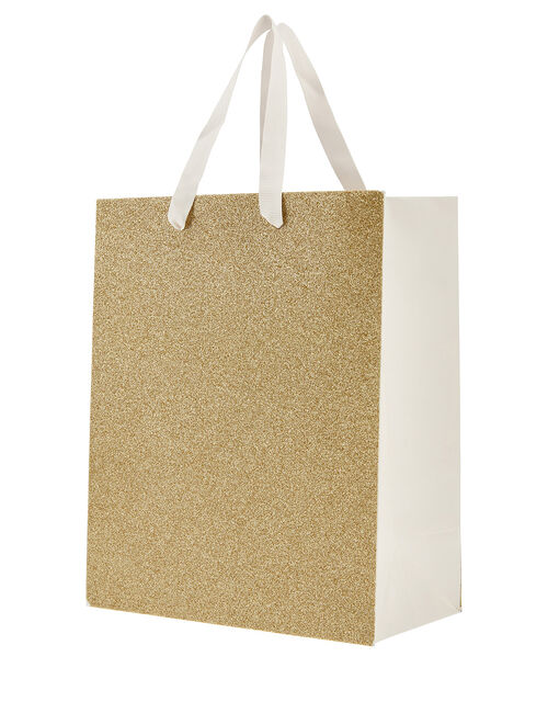 Medium Glitter Gift Bag, , large
