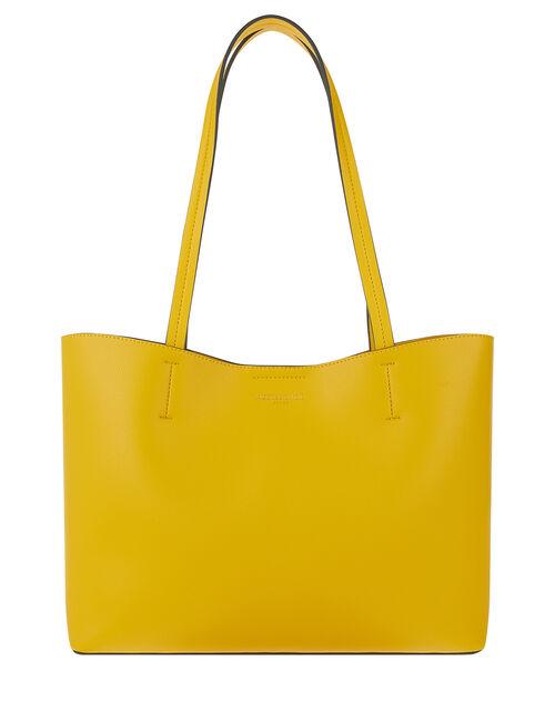 Leo Shopper Bag, Yellow (YELLOW), large