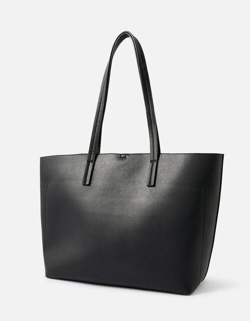 Ali Tote Bag, Black (BLACK), large