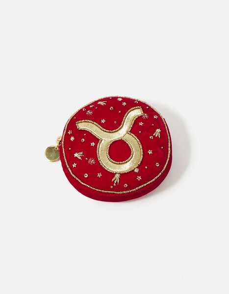 Star Sign Coin Purse Pink, Pink (FUCHSIA), large