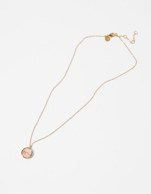 Rose Quartz Constellation Necklace - Leo, , large