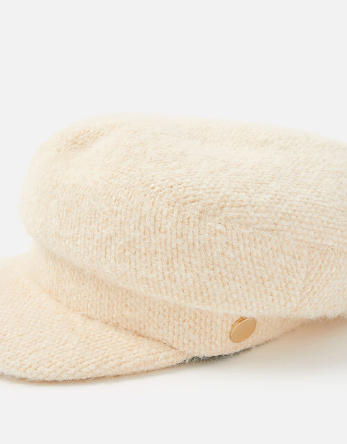 Textured Baker Boy Hat, , large