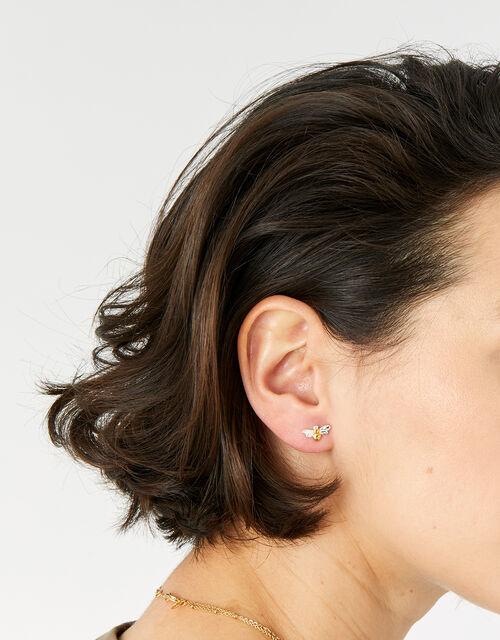 Bee Stud Earrings, , large