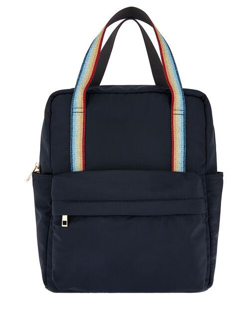 Zoe Rainbow Strap Backpack, , large