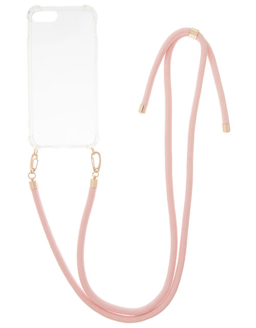 Cord iPhone Necklace, Nude (NUDE), large