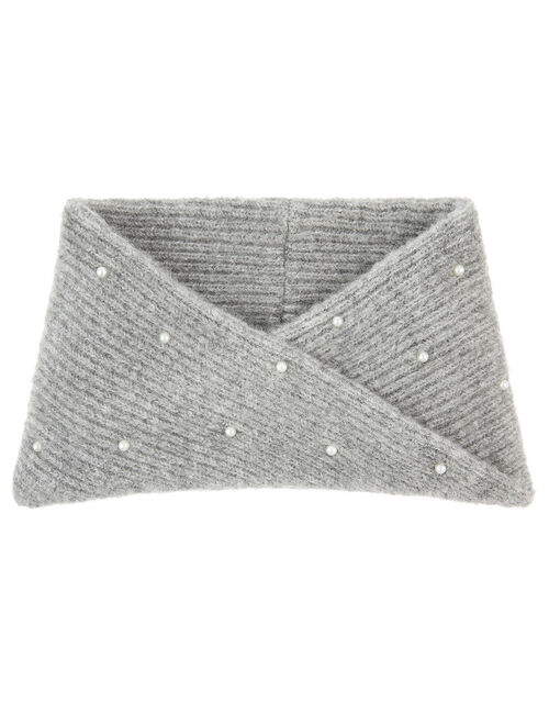 Pearly Knit Snood, , large
