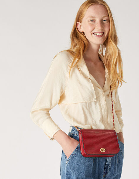 Evie Cross-Body Bag Red, Red (RED), large