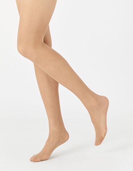 20 Denier Body Control Luxury Italian Tights Multipack  Nude, Nude (NUDE), large