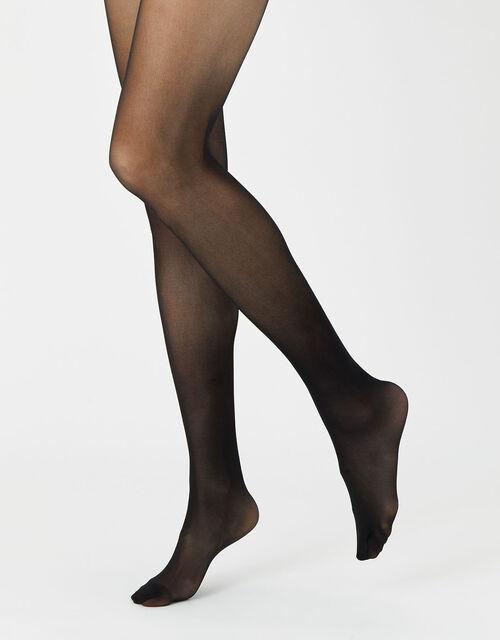 20 Denier Body Control Luxury Italian Tights Multipack , Nude (NUDE), large