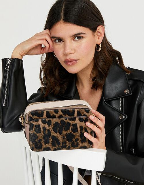 Harvey Camera Bag, Leopard (LEOPARD), large