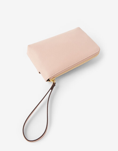 Wristlet Pouch Bag, Nude (NUDE), large