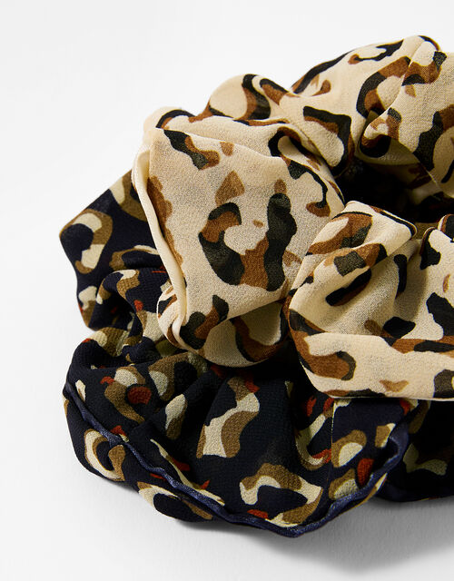 Animal Hair Scrunchie Set, , large