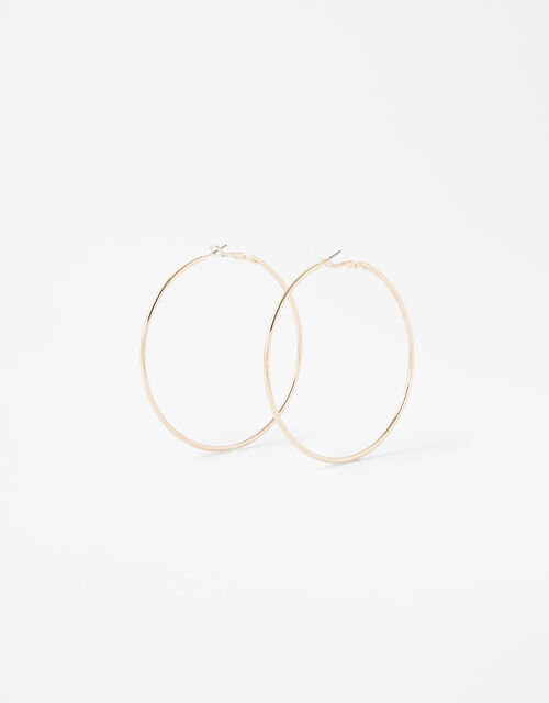 Medium Hoop Earrings, , large