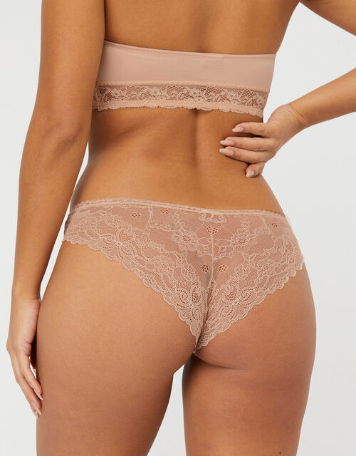 No VPL Brazilian Pants Multipack, Nude (NUDE), large