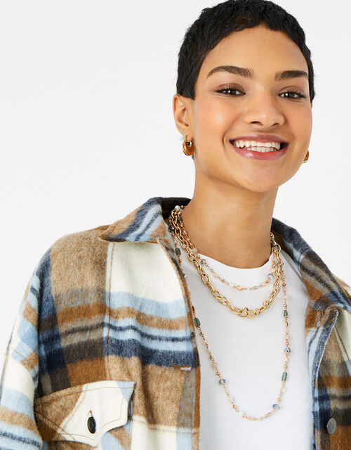 Meadow Muse Long Skinny Rope Necklace, , large