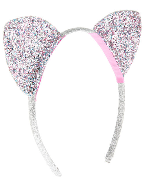 Glitter Cat Ears, , large
