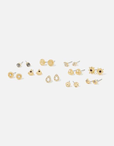 Berry Blush Stud Earring Set , , large