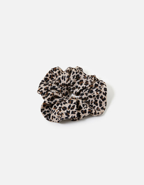 Leopard Large Scrunchie , , large
