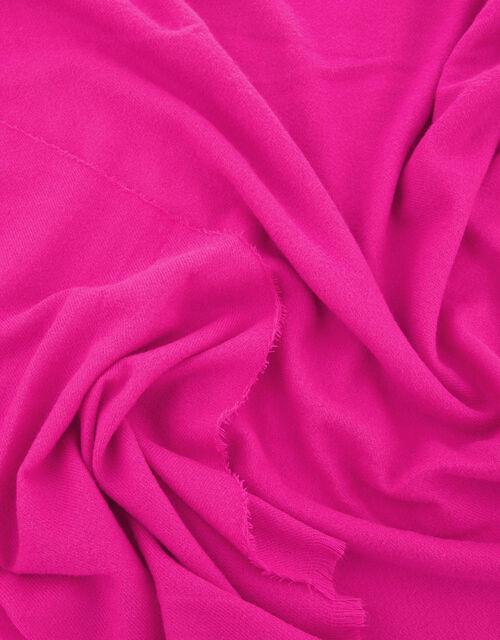 Wells Blanket Scarf Fuchsia, , large
