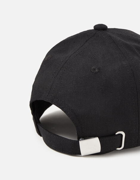 Linen Look Baseball Cap , , large