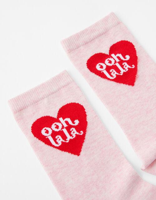 Ooh LaLa Heart Socks, , large