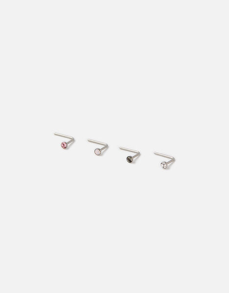 Nose Stud Set with Swarovski® Crystals, , large
