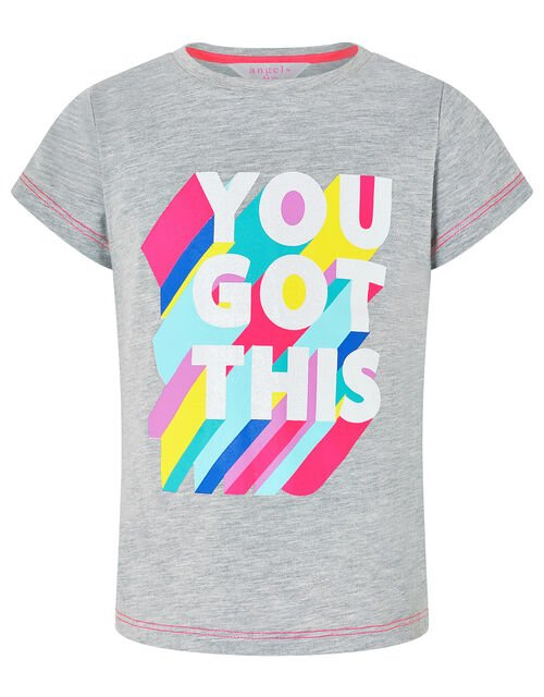 You Got This T-Shirt, Grey (GREY), large