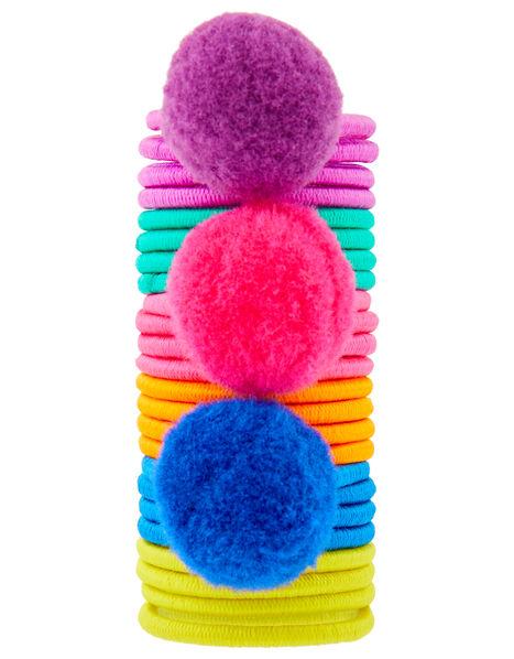 Itsy Bitsy Pompom Hair Band Set, , large