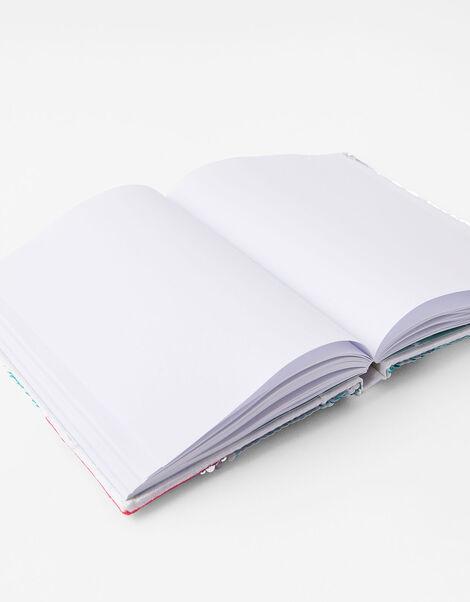 Sequin Flamingo Notebook, , large