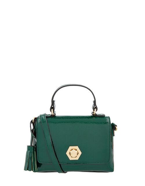 Patent Handheld Bag, Green (GREEN), large